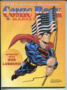 Comic Book Marketplace #92 2002-Gemstone-Superman-Bob Lubbers-collector info-VF