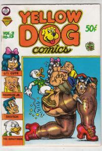 Yellow Dog #13 (Jul-69) VF High-Grade Yellow Dog, Chuck and Bob, Capt.Guts,Na...