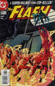 Flash (2nd Series) #203 VF/NM; DC | save on shipping - details inside