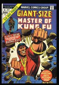 Giant-Size Master of Kung Fu #1 VF 8.0