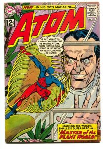 ATOM #1 1962-DC COMICS-FIRST ISSUE-1ST PLANT MAN - vg+