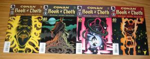 Conan: Book of Thoth #1-4 VF/NM complete series - kurt busiek - len wein 2 3