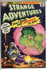 STRANGE ADVENTURES #188 1966-DC COMICS-STEVE DITKO ART-vf