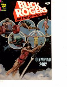 Lot Of 2 Comic Books Whitman Buck Rogers #12 and Ominous Mael's Rage #2 MS9