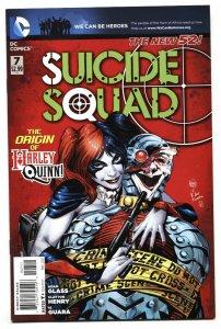 Suicide Squad #7-2011-Harley Quinn origin-comic book NM-