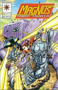 Magnus Robot Fighter (1991 series) #40, NM- (Stock photo)