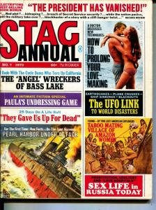 Stag Annual-1970-Pussycat-Motorcycles-Pearl Harbor-Adventure