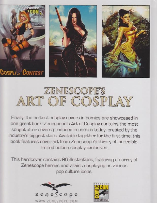 Zenescope's Art of Cosplay Hardcover SDCC Edition *NEW* LE200 / HipComic