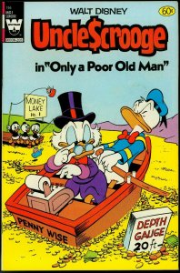 UNCLE SCROOGE #195 WHITMAN FIRST ISS REPRINT CARL BARKS VF+