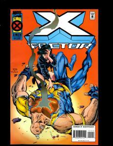 12 X-Factor Marvel Comics #111 123 124 125 126 127 128 129 130 131 132 133 JF20