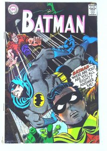 Batman (1940 series) #196, VG+ (Actual scan)