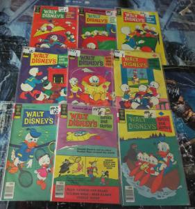 Walt Disney Comics And Stories Collection #4! 9 books VG-VF! Donald and Co.Barks