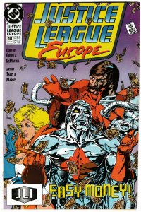 Justice League Europe #10 (DC, 1990) VF