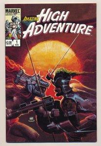 Amazing High Adventure (1984) #1 VF