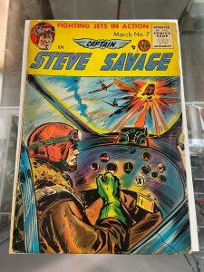 Captain Steve Savage 7 GD/VG 1st coded issue