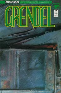 Grendel (2nd Series) #21 VF; COMICO | save on shipping - details inside