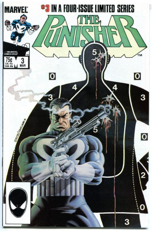 PUNISHER #3, VF/NM, Mike Zeck, Mini Series, 1986, Marvel, more in store