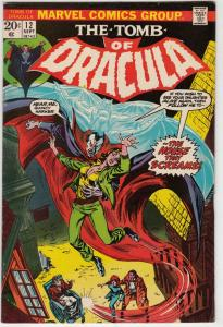 Tomb of Dracula #12 (Sep-73) NM- High-Grade Dracula
