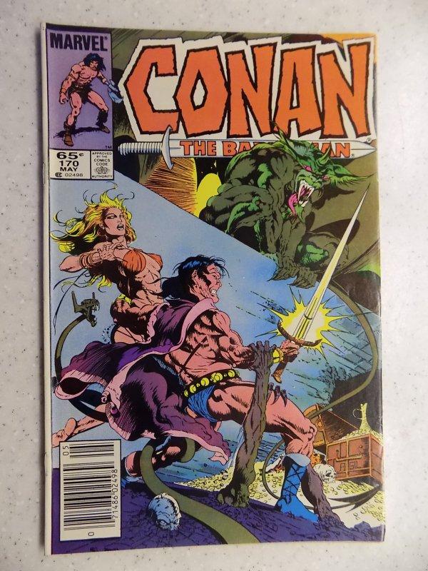 CONAN THE BARBARIAN # 170 MARVEL SAVAGE SWORD FANTASY