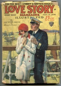 Love Story Pulp March 15 1930- Picture Bride FR