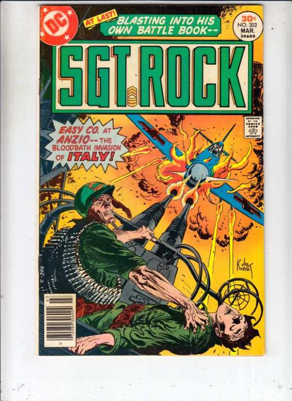 Sgt. Rock #302 (Mar-77) NM- High-Grade Sgt. Rock, Easy Co.