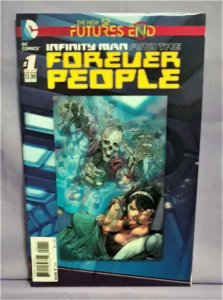 Keith Giffen INFINITY MAN and the FOREVER PEOPLE Future's End #1 3-D (DC, 2013)!