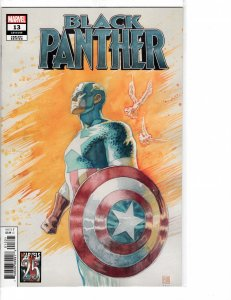 Black Panther (2018) 13 NM (9.4) Marvels 25th cover