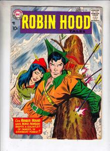 Robin Hood Tales #14 (Apr-58) VG- Affordable-Grade Robin Hood