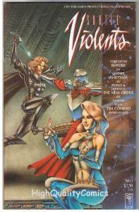 SUBTLE VIOLENTS #1, NM+, Joseph Linsner, Kevin Taylor, 1991, more JML in store