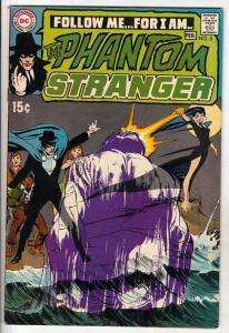 Phantom Stranger, The #5 (Feb-70) VF+ High-Grade The Phantom Stranger