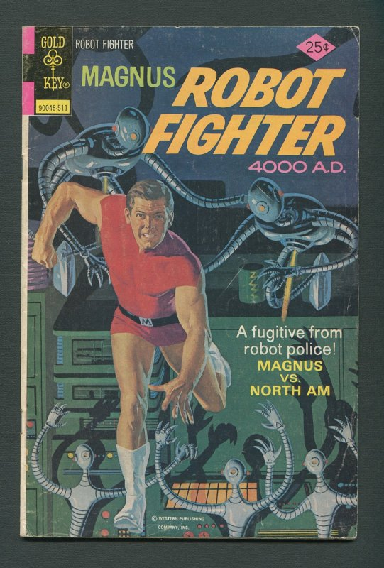 Magnus Robot Fighter #41 /  4.0 VG   November 1975