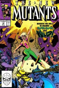New Mutants (1983 series) #79, Fine+ (Stock photo)