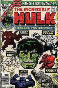 Incredible Hulk, The Annual #5 VF; Marvel | save on shipping - details inside