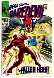 DAREDEVIL 40 FINE May 1968