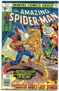 AMAZING SPIDER-MAN #173 1977- Molten Man- High Grade VF/NM