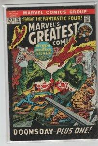 MARVELS GREATEST COMICS (1969 MARVEL) #37 VG+ A15185