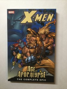 X-Men Age Of Apocalypse The Complete Epic Nm Tpb Sc Softcover Book 1 Marvel