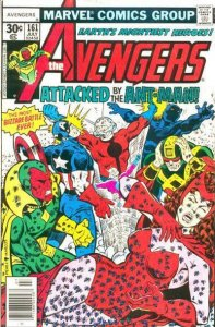 Avengers #161 (7.5) 1977 ATTACKED BY THE ANT-MAN! stock photo Bronze Marvel
