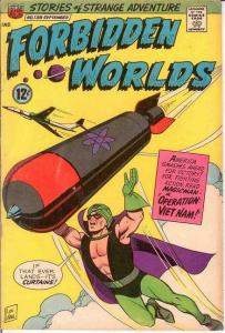 FORBIDDEN WORLDS 138 VG-F September 1966 COMICS BOOK