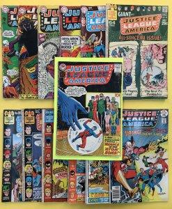 Justice League of America ,14 42,59,68,69,74,85,88,94,99,111,113,138(13 Lot)