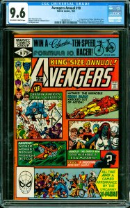 Avengers Annual #10 CGC Graded 9.6 1st appearance of Rogue & Madelyn Pryor. S...