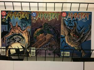 MANBAT (1996) 1-3  MANBAT BACK IN GOTHAM CITY