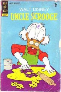 Uncle Scrooge, Walt Disney #100 (Aug-72) GD/VG Affordable-Grade Uncle Scrooge