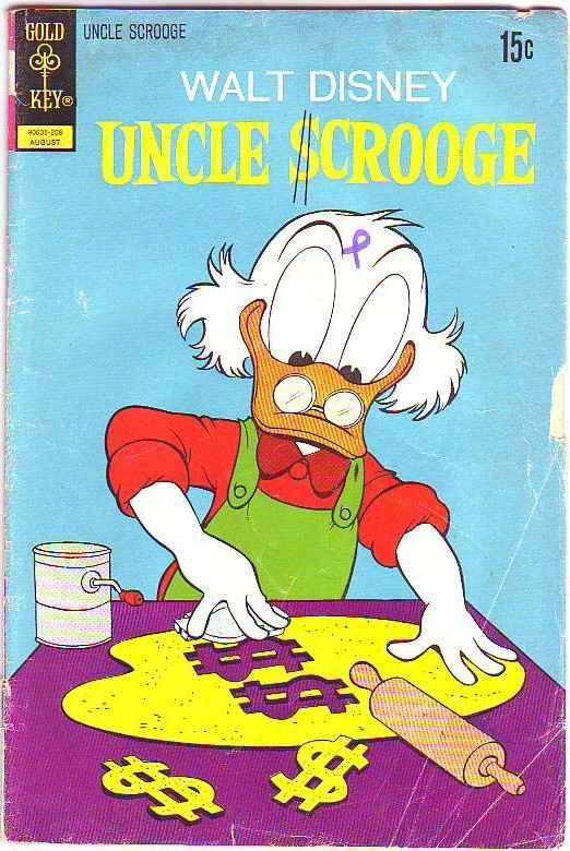 Uncle Scrooge, Walt Disney #100 (Aug-72) GD/VG Affordable-Grade Uncle Scrooge