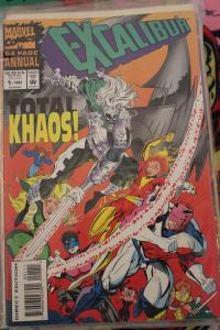 Excalibur Annual 1 F/VF