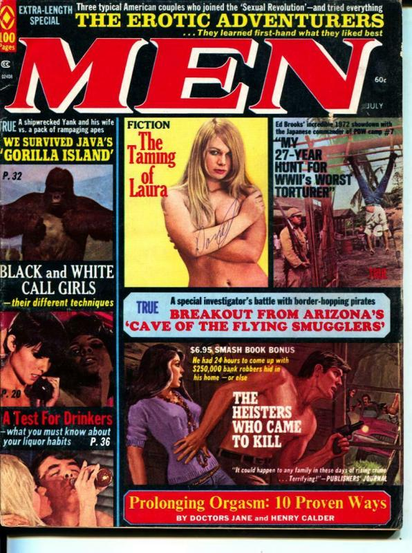 MEN-7/1972-Pussycat-WWII-Smuglers-Call Girls-Adventure
