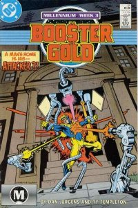 Booster Gold (1986 series) #24, VF+ (Stock photo)