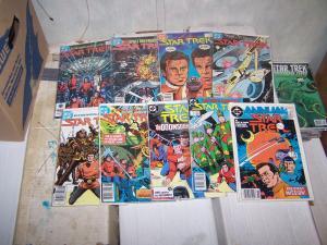 Star Trek # 1 3 6 11 12 13 15 17 34 36 40 +annual 1984 DC kirk spock sulu mccoy