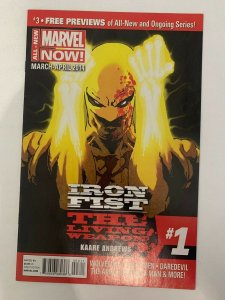 IRON FIST: THE LIVING WEAPON #1 A KAARE ANDREWS 2014 MARVEL COMICS NM