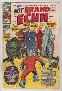 Not Brand Echh #1 (Aug-67) VG/FN Mid-Grade Fantastic Four, Captain America, N...